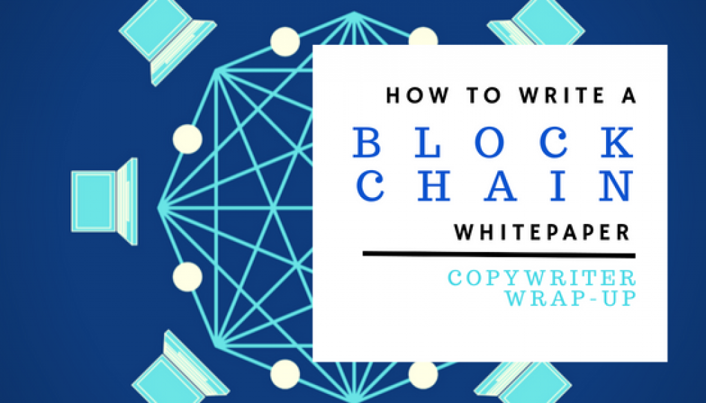 How to write a blockchain whitepaper
